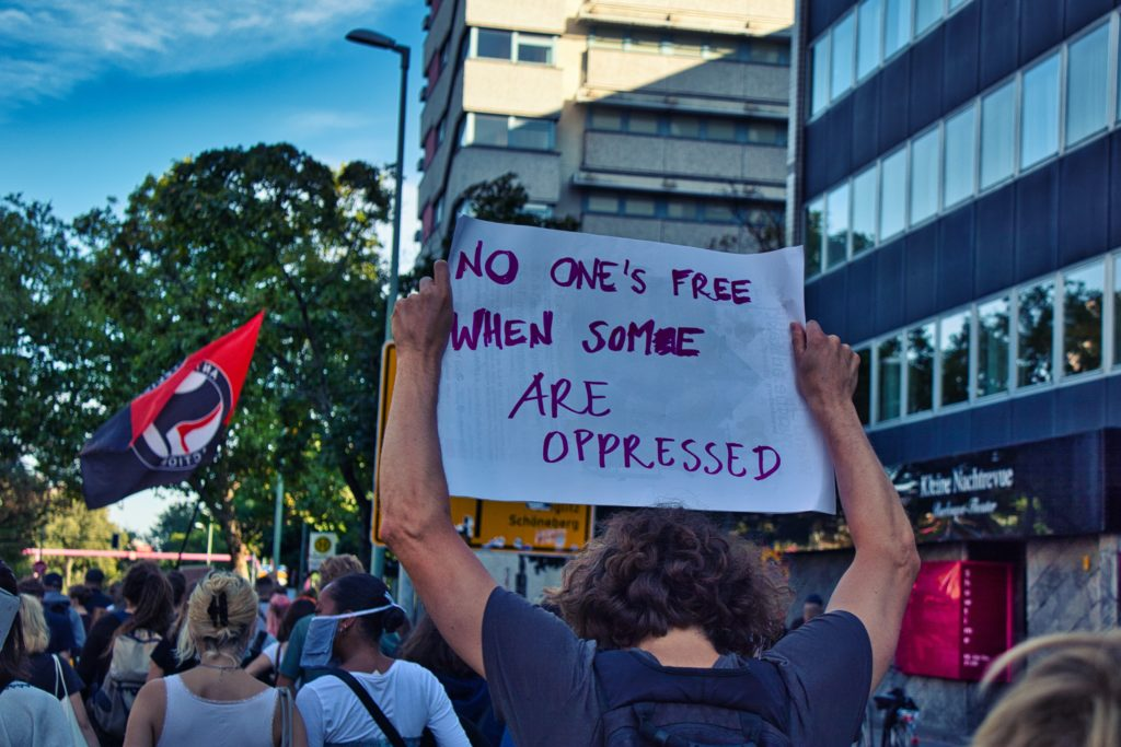 no one is free when some are oppressed